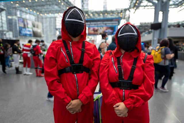 欧美多所小学发禁令:万圣节禁止鱿鱼游戏角色扮演
