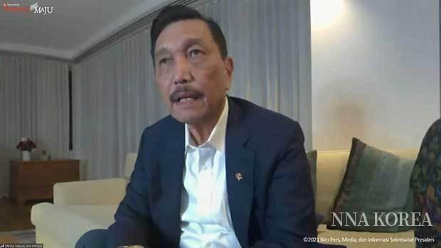 인도네시아, 루후트 장관