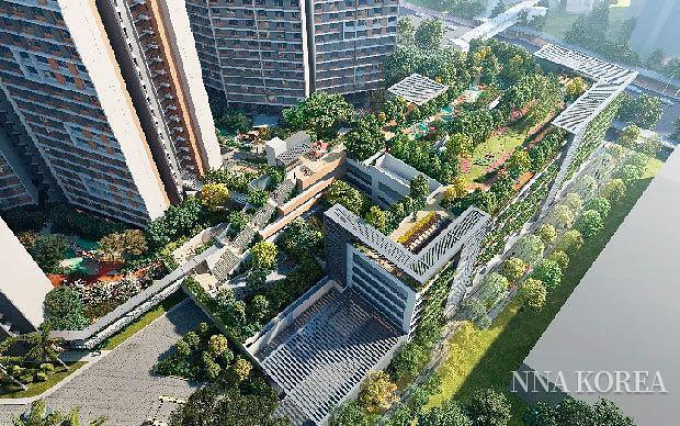 싱가포르 퀸즈타운, 공영주차장 이미지