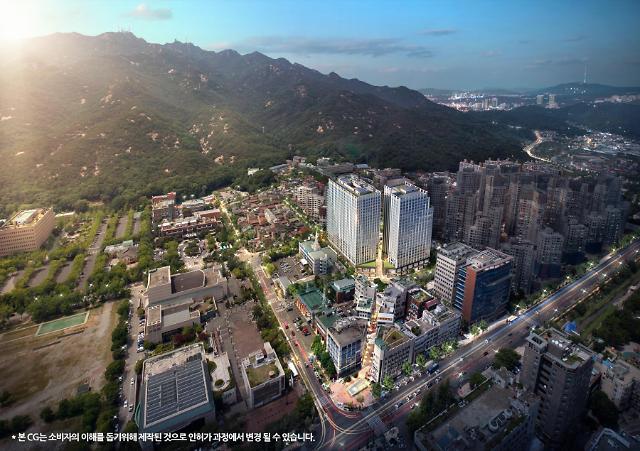 [2021 아주경제 건설대상 오피스텔]현대건설 힐스테이트 과천 중앙