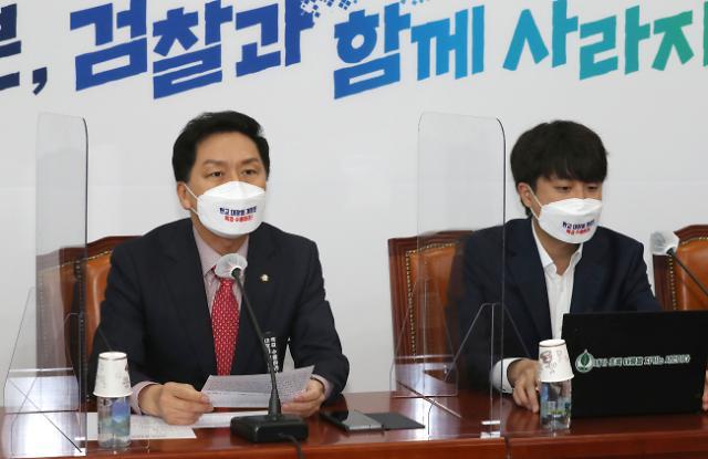 """이준석·김기현 """"경쟁력조사, 전례 없는 방식은 불공정 시비"""""""