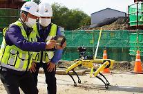 5Gロボットが建設現場の3Dマップ作成…LGユープラス、実証に成功