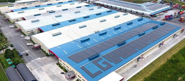 LG전자, 태국 공장에 태양광 발전소 가동…100% 재생에너지 전환 속도