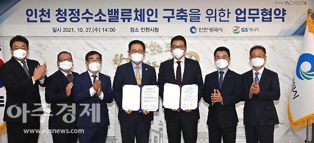 인천시, 수소 선도도시 건설 본격화