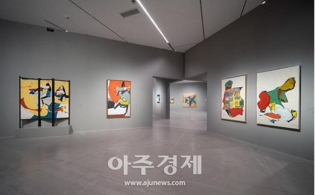 회고전으로 만나는 한국 추상미술 대표 화가 최욱경