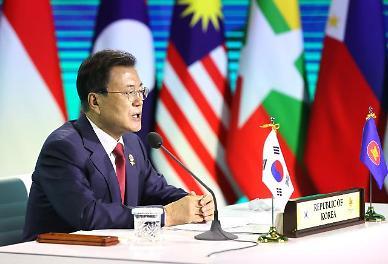 文, '아세안+3' 정상회의 참석…다자주의 통한 경제 회복 강조