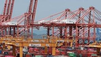 6ヵ月連続で貿易条件悪化・・・輸出量は13ヵ月ぶりに「マイナス」
