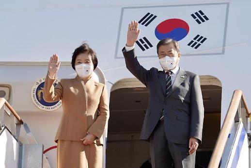 文在寅开启9天访欧行程 韩美首脑或会面商议半岛局势